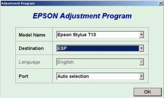 CARA RESET PRINTER EPSON T13 DAN ME32